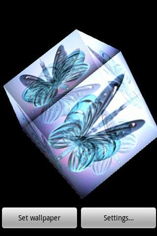 3D butterfly LWP