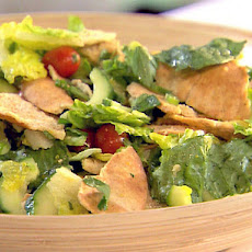 Herbed Toasted Pita Salad