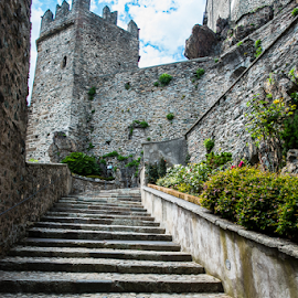Monte Sant'Angelo by Photoxor 2014 - Buildings & Architecture Places of Worship ( monte sant'angelo, stairs, italy,  )