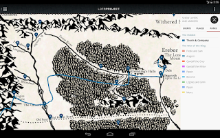 Screenshot of The Lord of the Rings Project