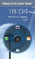 Screenshot of Galaxy S3 Go Launcher Theme