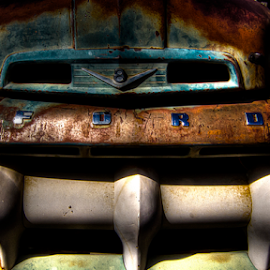 Rusted by Kelly Hawkins-Gibson - Transportation Automobiles ( canon, truck, jerome, rusted, arizona, k gibson photography, ford )