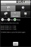 Screenshot of BB Dice