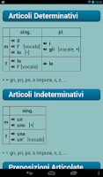 Screenshot of Italian Verbs