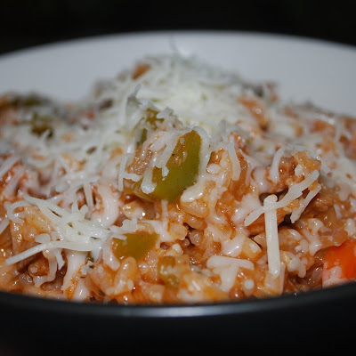 Unstuffed Pepper Skillet Dinner