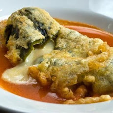 Chiles Rellenos from Zacatecas Mexico