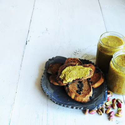 Creamy Roasted Pistachio Nut Butter