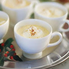 Eggnog with Nutmeg and Cinnamon