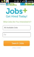 Screenshot of Jobs+