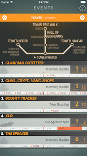 Destiny Public Events Tracker Screenshot