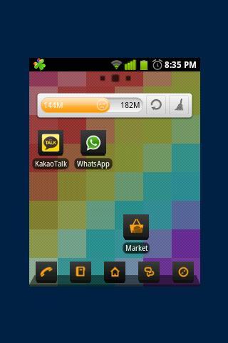 Kubik Go Launcher EX Theme