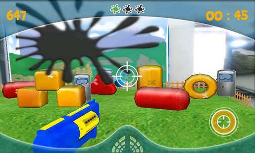 paintball-3d for android screenshot