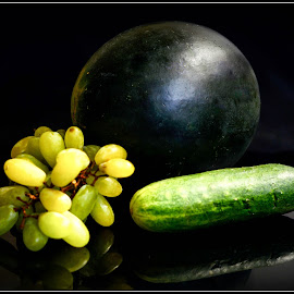 Greens by Prasanta Das - Food & Drink Fruits & Vegetables ( vegtables, green, fruits )