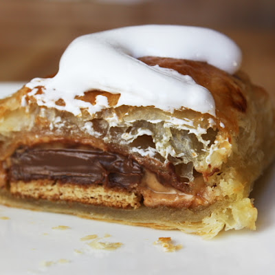 Peanut Butter- S'Mores Turnovers