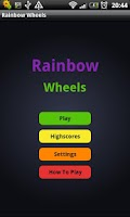 Screenshot of Rainbow Wheels