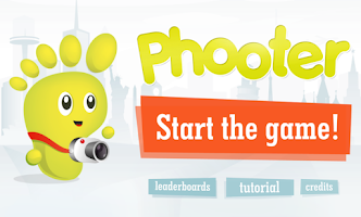 Screenshot of Phooter Flickr Photo Shooter