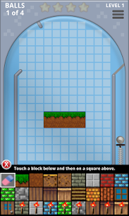 Pinball Block Breaker Craft - screenshot