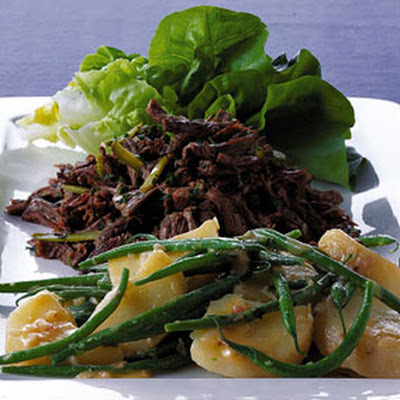 Beef Salad with Potatoes and Cornichons