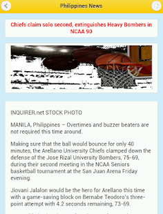 Philippine News - screenshot
