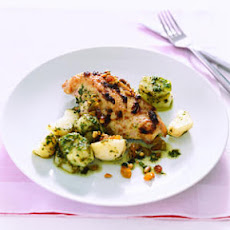 Chicken with Pesto Potatoes