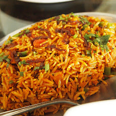 Vegetable Biryani (South Africa)