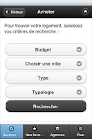 Screenshot of FDI ICI Agences Immobilières