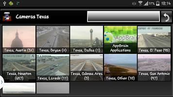 Screenshot of Cameras Texas