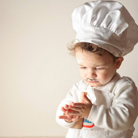Sticky dough! by Ayelet Cohen - Babies & Children Children Candids