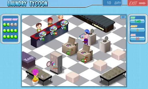 Laundry Tycoon HD Lite