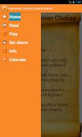 Screenshot of Hanuman Chalisa (Audio-Alarm)