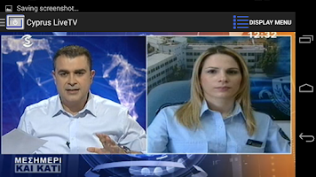Screenshot of Cyprus Live TV