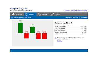 Screenshot of Tricount - Split group bills
