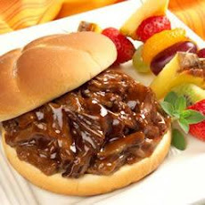 Pulled Barbecue Beef Sandwiches