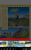 Screenshot of MOUNTAIN BIKE WORLD