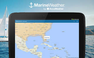 Screenshot of Marine Weather: UK Edition