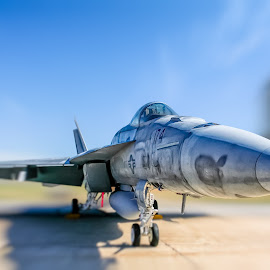 super hornet by Scott Stringham - Transportation Airplanes ( canon, scott stringham, f-18, marines, stringham, landscape, look at me, photography, www.rustlingleafdesign.com, f18, flight, nature, air force, utah, hill air force base, navy, earth, super hornet, air force week )