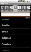 Screenshot of ImslpDroid