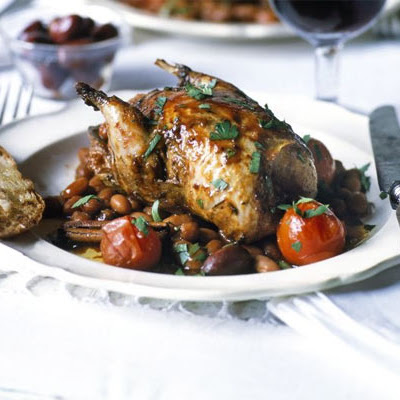 Partridge With Wine & Cinnamon