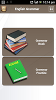 Screenshot of English Grammar Book Add Free