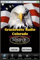 Screenshot of Grassroots Radio Colorado
