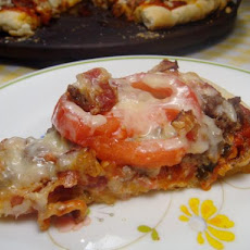 Bacon-Cheeseburger Pizza