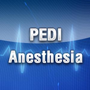 Cover art Pedi Anesthesia