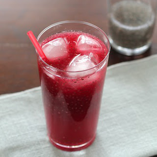 Blood Orange Chia Drink
