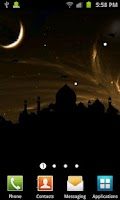 Screenshot of Taj Mahal Silhouette