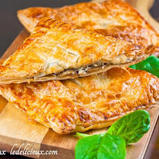 Mushroom, Spinach and Feta Pie
