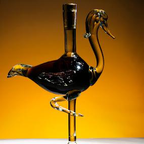 Brandy Bottle by Jim Westcott - Artistic Objects Glass ( bottles brandy, glass )