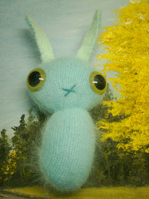 Sally Sea Bunny: This bunny feels at home in the metaphorical sea.  *SOLD*