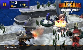 Screenshot of GLWG:All Out War