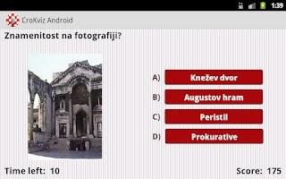 Screenshot of CroKviz