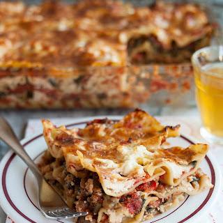 eggplant zucchini lasagna with fontina recipe yummly eggplant zucchini ...